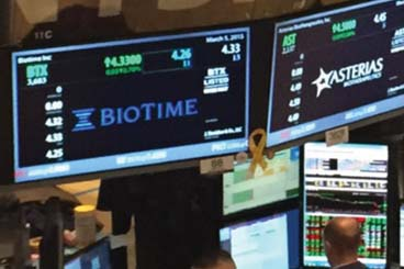 NYSE MKT and TASE: BTX